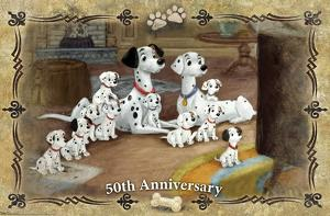 Disney 101 Dalmatians - 50th Anniversary