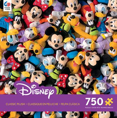 Disney Classic Plush 750 Piece Jigsaw Puzzle