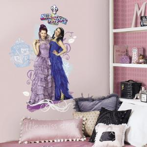 Disney Descendants Mal And Evie Peel And Stick Wall Graphic