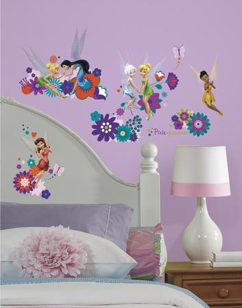Disney Fairies   Best Fairy Friends Peel And Stick Wall Decals