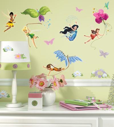 Disney Fairies Peel U0026 Stick Wall Decals