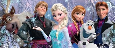 Disney Frozen Friends 200 Piece Puzzle