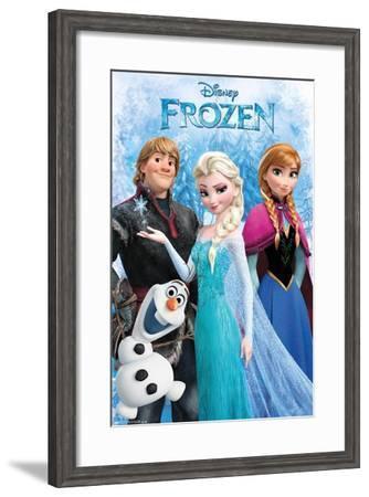 Disney Frozen - Group--Framed Poster