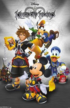 Disney Kingdom Hearts 2 - Collage