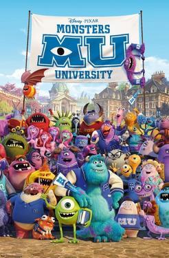 Disney Monsters University - One Sheet