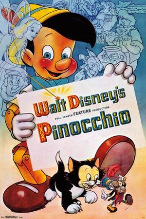 Disney- Pinocchio: One Sheet