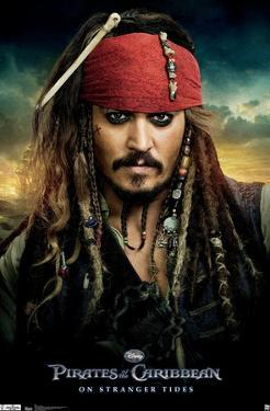 Disney Pirates of the Caribbean: On Stranger Tides - One Sheet
