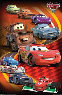 Disney Pixar Cars 2 - Group