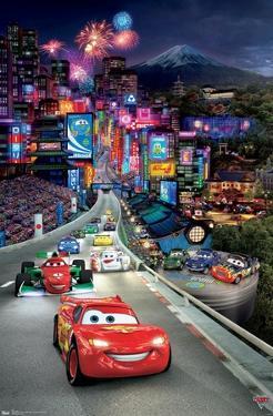 Disney Pixar Cars 2 - Triptych 1