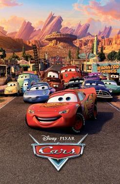 Disney Pixar Cars - One Sheet