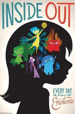 Disney Pixar Inside Out - Emotions