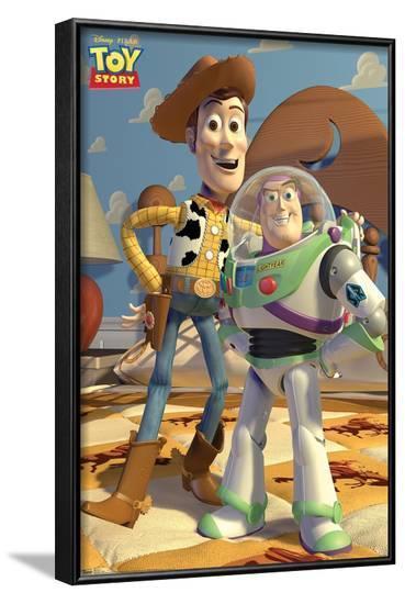 Disney Pixar Toy Story - Pals--Framed Poster