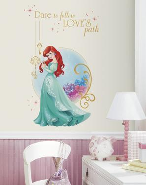 Disney Princess Ariel Peel And Stick Giant Wall Graphic
