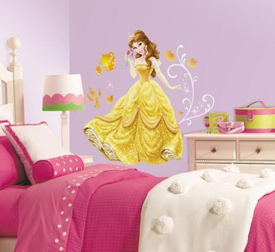 Disney - Princess Belle Peel and Stick Giant Wall Decals
