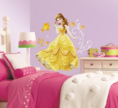Disney   Princess Belle Peel And Stick Giant Wall Decals