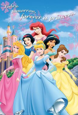 Disney Princess Castle Movie Poster