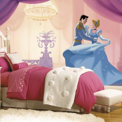 Disney Princess Cinderella So This Is Love XL Chair Rail Prepasted Mural