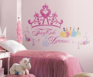 Disney Princess - Princess Crown Peel & Stick Giant Wall Decal