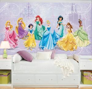 Disney Princess Royal Debut Prepasted Mural