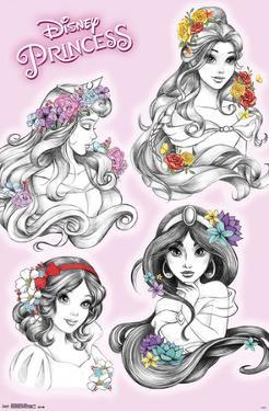 Disney Princess - Sketch