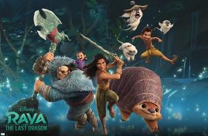 Disney Raya and the Last Dragon - Group