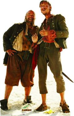 Disney's Pirates of the Caribbean - Pirate Duo (Pintel and Ragetti)