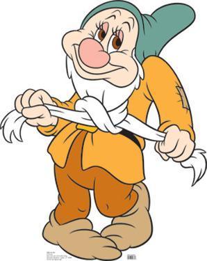 Disney's Snow White and the Seven Dwarves - Bashful Lifesize Cardboard Cutout