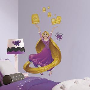 Disney Sparkling Rapunzel Peel and Stick Giant Wall Decals