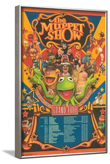 Disney The Muppets: Most Wanted - Grand Tour--Framed Poster