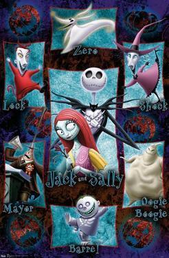 Disney Tim Burton's The Nightmare Before Christmas - Grid