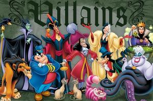 Disney VIllains - Group Pose