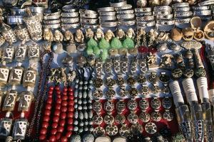 Display of Jewelry and Bracelets, Durbar Square, Patan, Nepal
