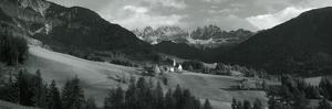 Distant View of a Church, St. Magdelena Church, Italy