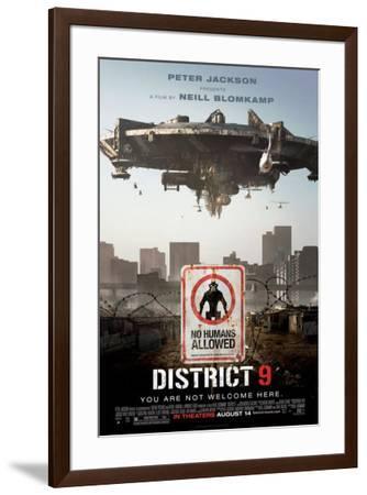 District 9--Framed Poster