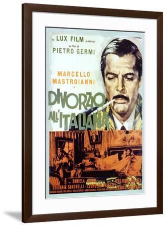 Divorce - Italian Style - Italian Style--Framed Poster