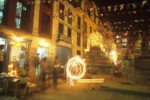 Diwali Festival, Katmandu, Nepal