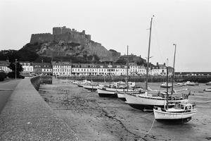 General View of the Harbour in St Helier 1977 by Dixie Dean