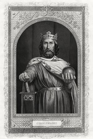 Charlemagne, King of the Franks, 1875