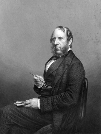 George Cruikshank (1792-187). English Caricaturist and Book Illustrator, Late 19th Century