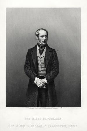 John Somerset Pakington, 1st Baron Hampton, English Politician, C1880