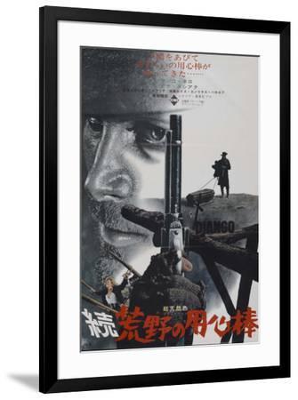 Django - Japanese Style--Framed Poster