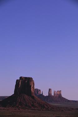 Desert Valley at Dusk by DLILLC
