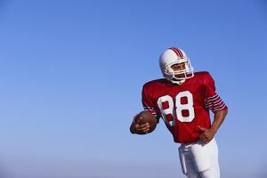 Football Player by DLILLC