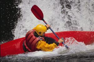 Kayaking by DLILLC