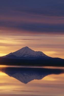 Mt. Shasta at Sunrise by DLILLC