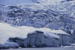 Shoup Glacier Covered in Fresh Snow by DLILLC