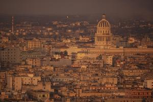 View of Havana Cuba by DLILLC
