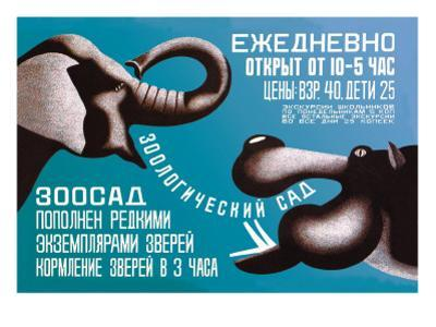 Zoo, Open Daily from 10 to 5 by Dmitri Bulanov