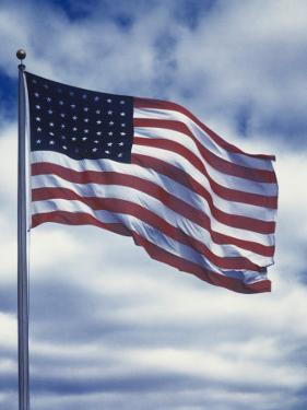 48 Star American Flag by Dmitri Kessel