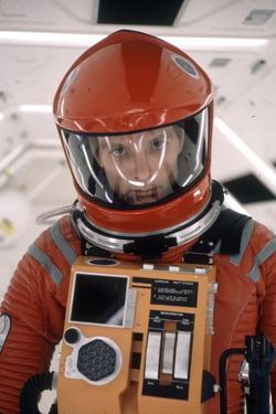 "Actor Keir Dullea in Space Suit in Scene from Motion Picture ""2001: a Space Odyssey."", 1968 by Dmitri Kessel"